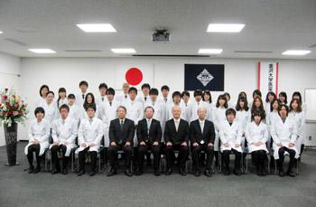 金沢大学 白衣授与式