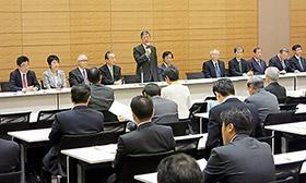 都内で開かれた「国民医療を守る議員の会」総会