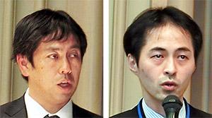 豊見敦氏(右)と伊東浩司氏