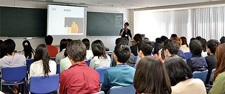 日本薬学生連盟の先輩からのお話