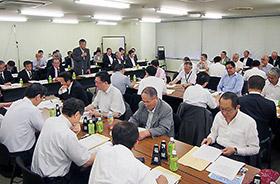 9日に開かれた日薬の都道府県会長協議会