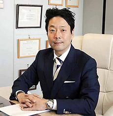 理事長に就任した川上浩司氏
