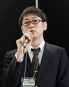 研究成果を報告する神戸大病院薬剤部・山本和宏氏