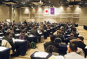 21、22日に都内で開かれた日薬臨時総会