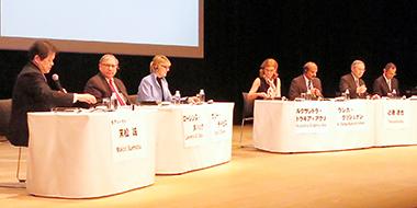 22日に都内で開かれた「日本医療研究開発機構」発足を記念した国際シンポジウム