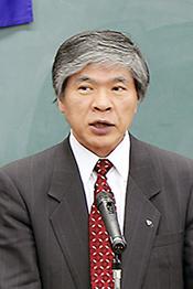 川勝一雄会長