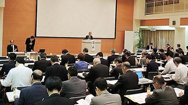 大阪市内で開かれた大阪医薬品協会総会