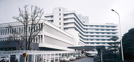 北里大学病院全景(入職当時の写真)