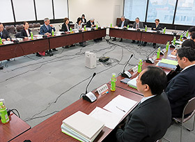 15日に開かれた薬剤師国家試験制度改善検討部会