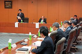 14日に開かれたワクチン・血液製剤産業タスクフォースの初会合