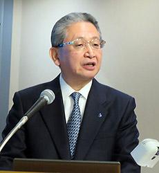 小坂達朗社長兼COO