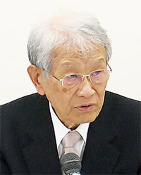 松本紘会長