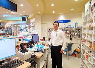 タスマニア・ホバートの薬局で働く薬剤師