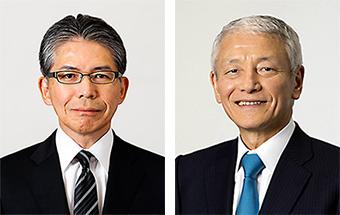 畑中好彦氏(左)と多田正世氏