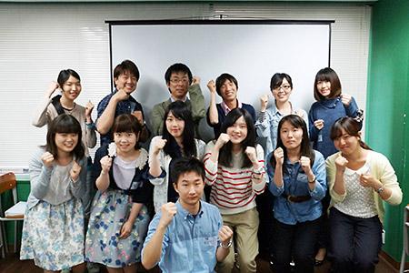 Study Session Projectに参加した学生たち 1