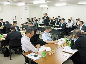 13日に開かれた都道府県会長会議