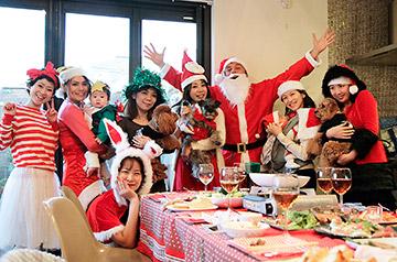 クリスマスパーティー@宇野家
