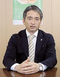 角田礼昭社長
