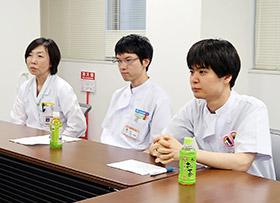 左から石井さん、内海さん、内田さん