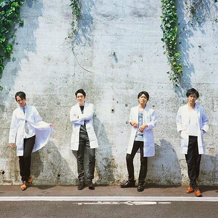 Foot mark musicのメンバー。左からKaraさん、Kaniさん、Keiさん、Danさん
