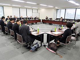 25日に開かれた新薬剤師養成問題懇談会